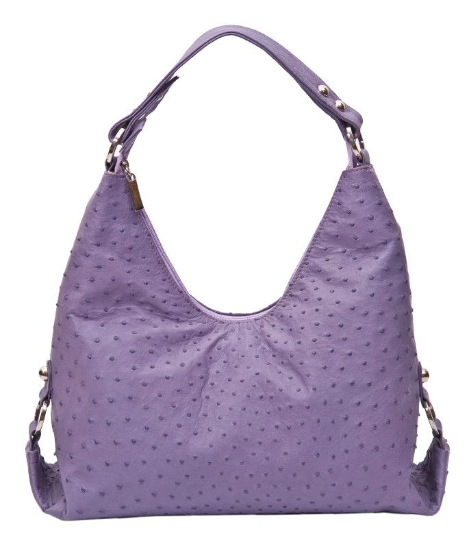 Edinburgh Bag. Ostrich leather. 60 colours to choose from. GoodiesHub.com