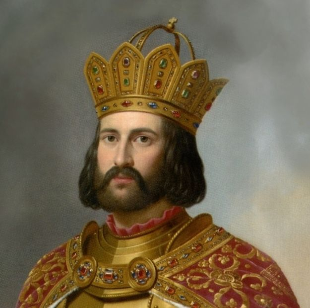 Otto the Great, founder of the Holy Roman Empire, who reportedly swore by his beard when making an oath