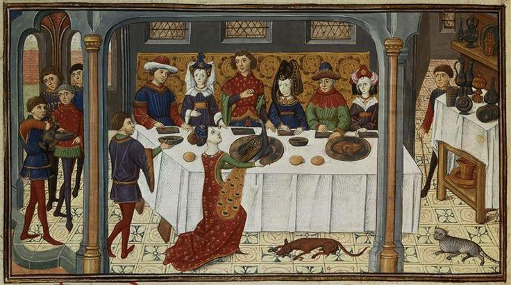 A medieval banquet to celebrate complete with a roasted for Art culture and cuisine ancient and medieval gastronomy