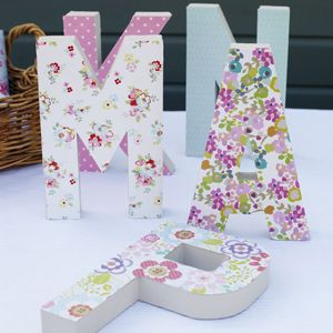 like this tutorial which would work well on our 3d paper alphabet letters