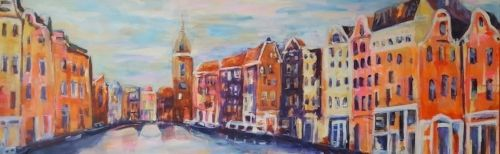 Amsterdam City painting