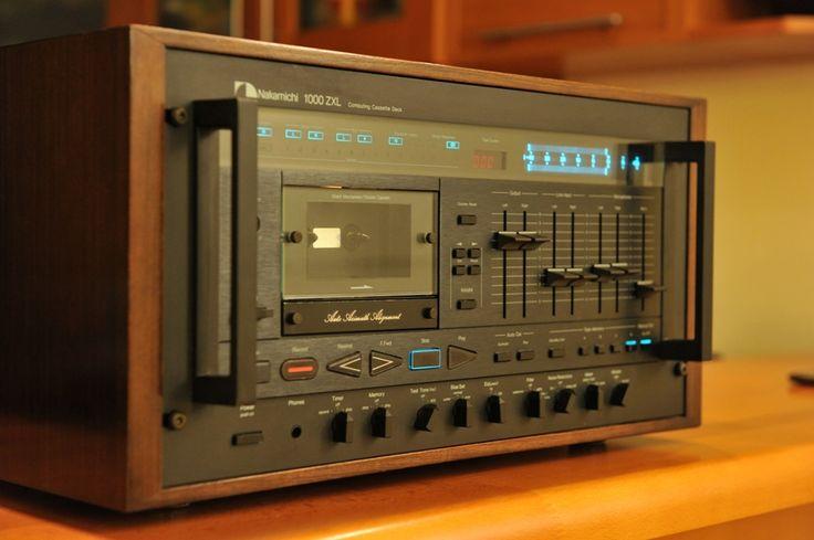 Nakamichi 1000 Zxl Cassette Tape Player Nakamichi