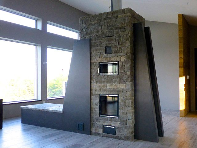 49 best images about masonry heaters on pinterest for Alternative fireplaces