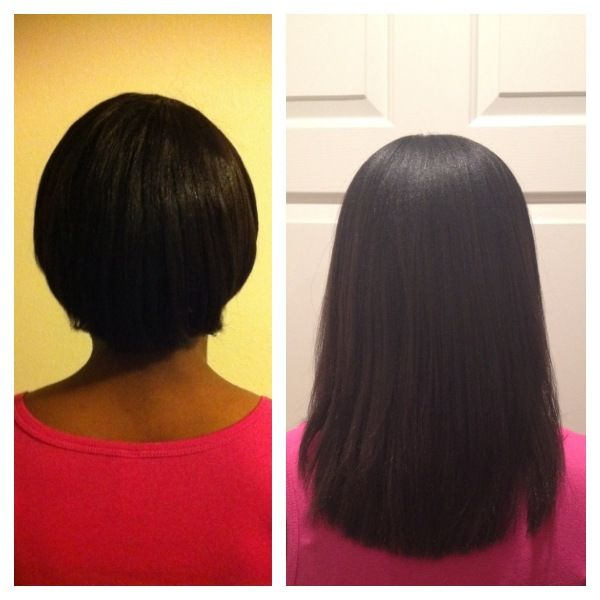 50 best healthy relaxed hair images on pinterest bangs 18 months of progress she looks relaxed but what a hair journey success nonetheless pmusecretfo Gallery