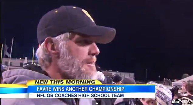 Brett Favre's House in Mississippi | Brett Favre Is a Champion Again...As a High School Coach - The Viking ...