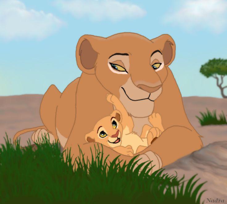 Lion King Safura Nala and her grandmoth...