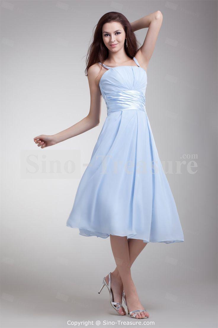 light blue wedding dress tea length wwwpixsharkcom