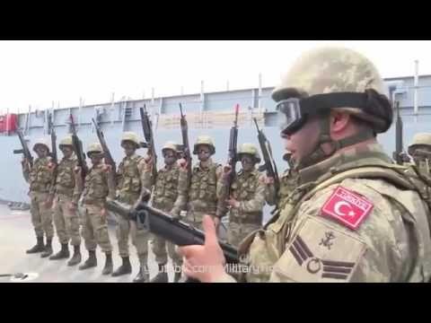 Pakistan Military With US, UK, Turkish Military