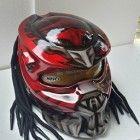 Predator Helmet Street Fighter-Handmade