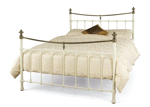 Buy Serene Edwardian Kingsize Metal Bedstead| Bedstar