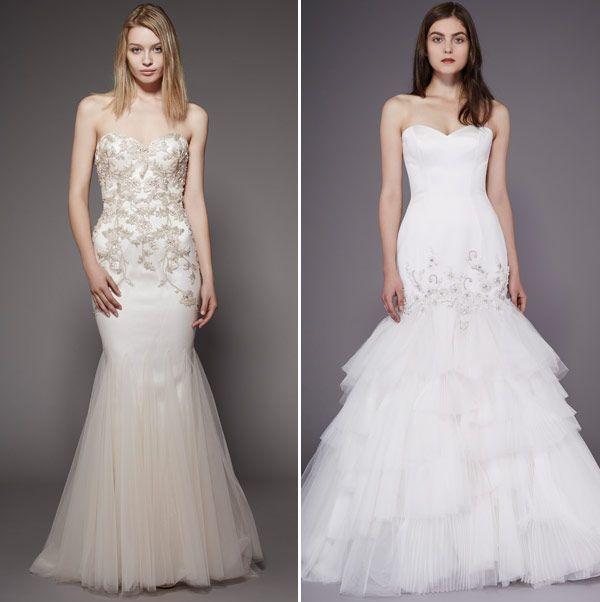 Vestido de noiva -  Badgley Mischka - NY Bridal Week fall 2016