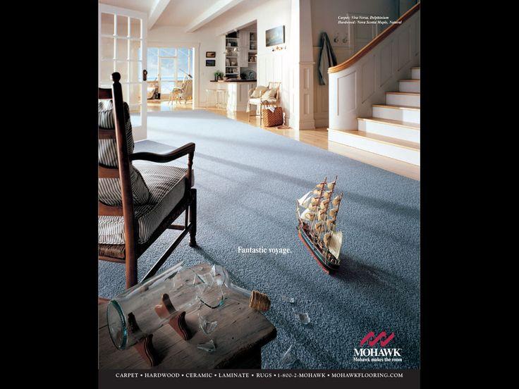 cool blue carpet design by mohawk flooring for home interior design ideas