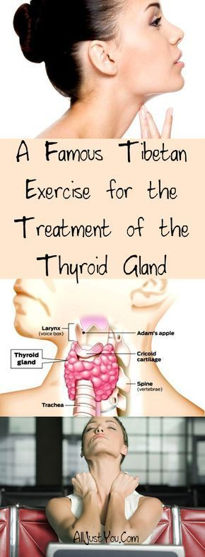 A Famous Tibetan Exercise for the Treatment of the Thyroid Gland #fitness #beauty #hair #workout #health #diy #skin