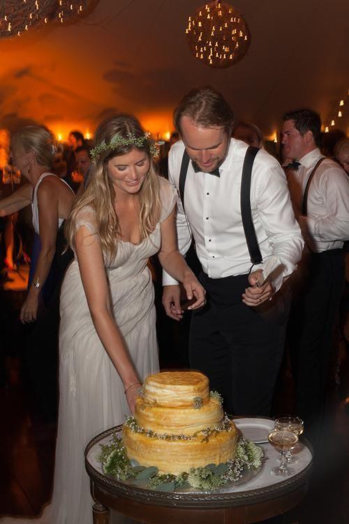 A Lady M crepe cake   Brides.com