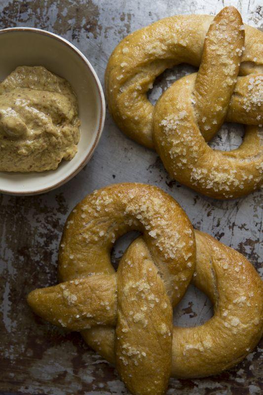 Whole Wheat Soft Pretzels   Healthy Seasonal Recipes @Katie Webster