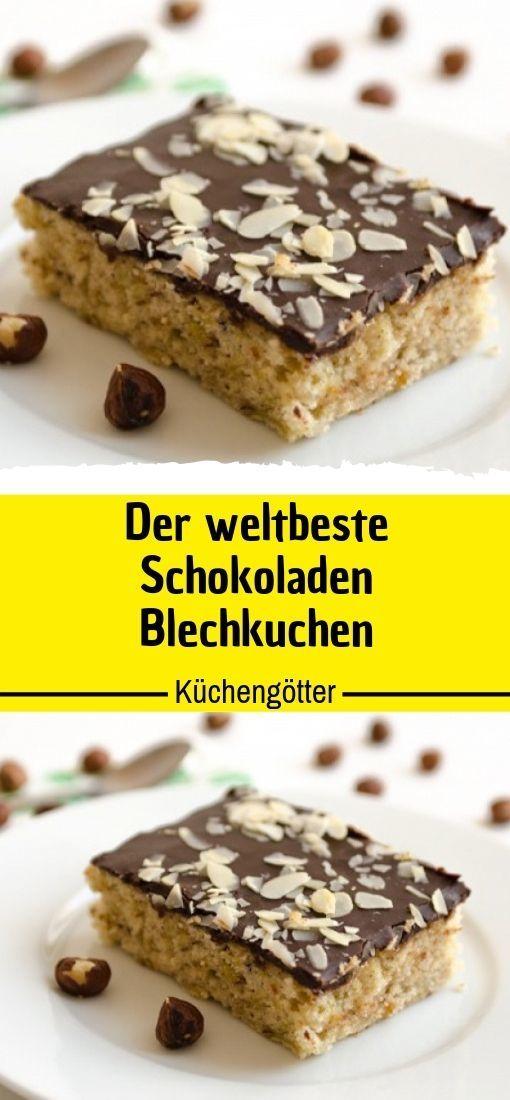 Der weltbeste Schokoladen – Blechkuchen 😍