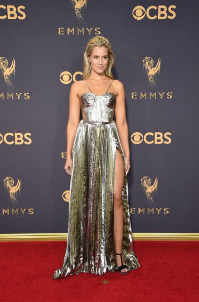Kristine Leahy attends the 69th Annual Primetime Emmy Awards at Microsoft Theater on September 17 2017 in Los Angeles California