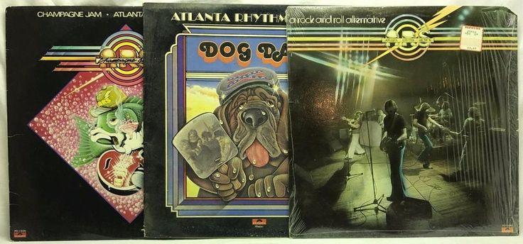 Atlanta Rhythm Section LP, Vinyl Record, Album Lot: Champagne Dream + Dog Days stores.ebay.com/capcollectibles