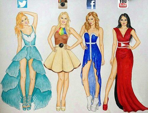 sociale medier xxx outfits