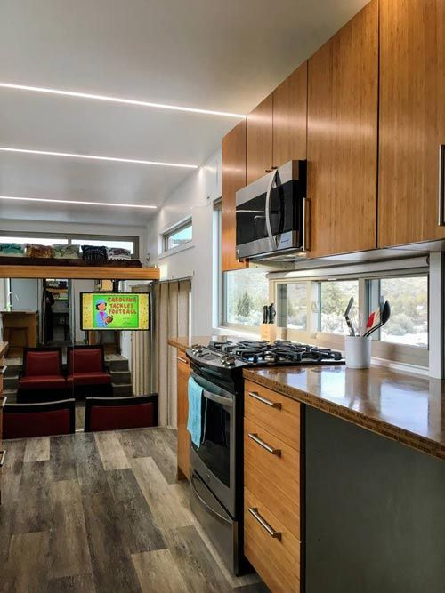 Upper Cabinets - Modern Scandinavian Tiny House Studio
