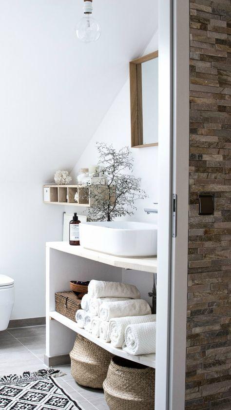 Beautiful bathroom nook