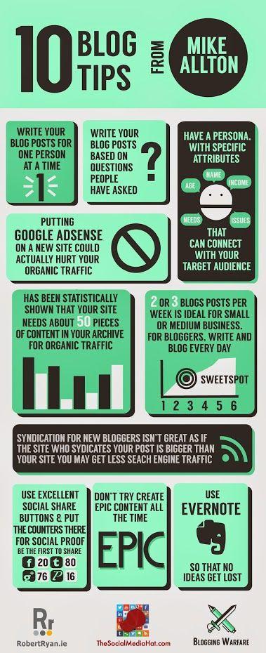 10 Blogging Tips shared during the Blogging Warfare HOA. | #Blogging #ContentMarketing #BloggingTips