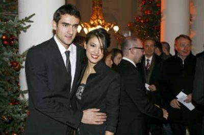 Dois Amores -bertinos - Sport Sterren - Marin Cilic en zijn vriendin Kristina Milkovic