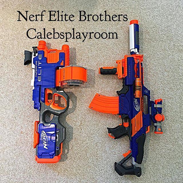 Nerf Elite Brothers   #Nerf #coolpic #nerfgun #nerfguns #Nerfnation #Nerfornothing #nerfwar #nerfwars #nerfblaster #nerfblasters #igers #likes4likes #l4lback #igdaily #calebsplayroom #l4like #fynerfin #nerfherder ##nerfgunwar #l4l #nerfmod #nerfmods #nerfs #nerfthis