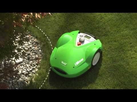 VIKING - Robot iMow - Corta a relva e recarrega-se sózinho. http://www.angelimoto.com