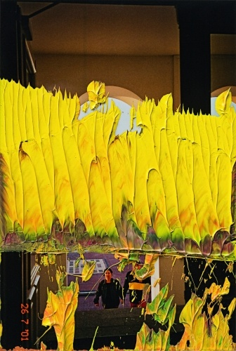 Gerhard Richter - Ohne Titel (17.9.09) (2009) Oil on photograph