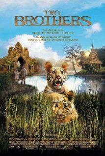 """Two Brothers,"" (2004) - a lovely film. The film is about two tiger brothers, Kumal and Sangha, who are separated as cubs, and who each live life in very different circumstances, only to be reunited again a year later. (Starring Freddie Highmore and Guy Pearce.)"