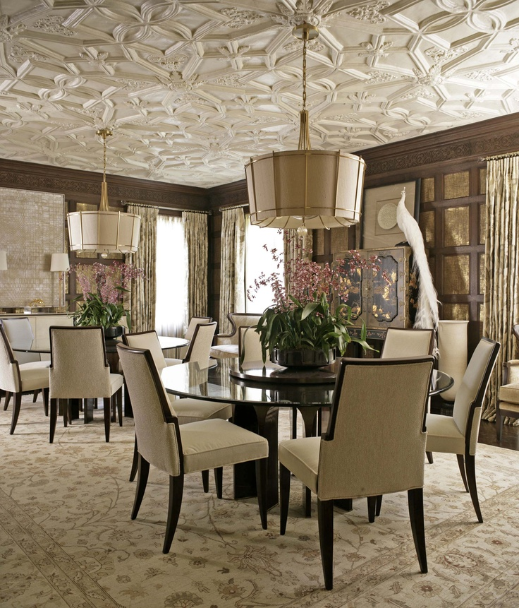 The Endlessly Elegant Dining Room Was Designed By Jeffrey Muse For 2013 Adamsleigh Showhouse