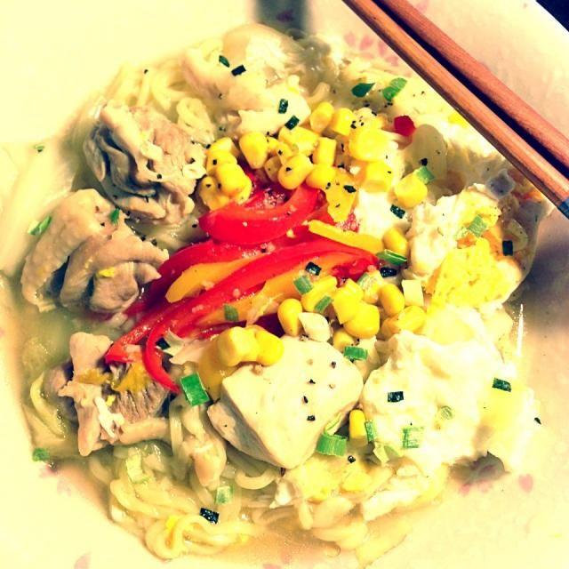レシピとお料理がひらめくSnapDish - 11件のもぐもぐ - とり塩スープ麺 by Phoebe