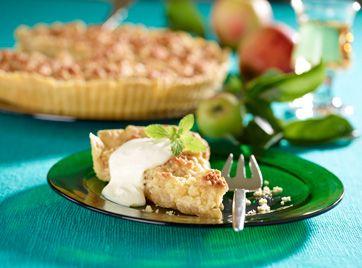 Æblekage med toscalåg