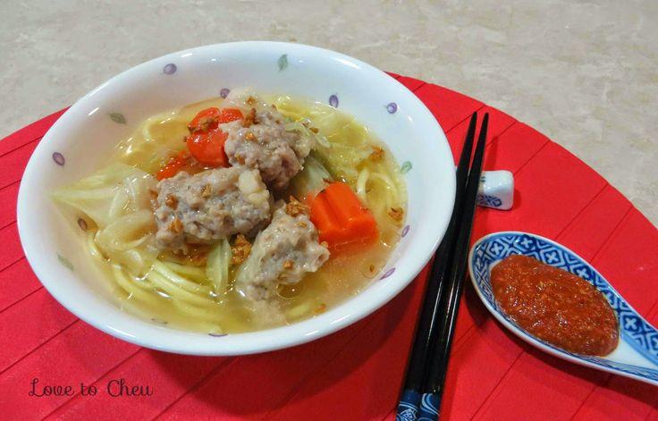 Love to Cheu: Chap Cai T'ng aka Mixed Vegetables Soup