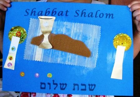 Felt #Challah cover #Shabbat #craft for preschoolers. They will be so proud when you use it!