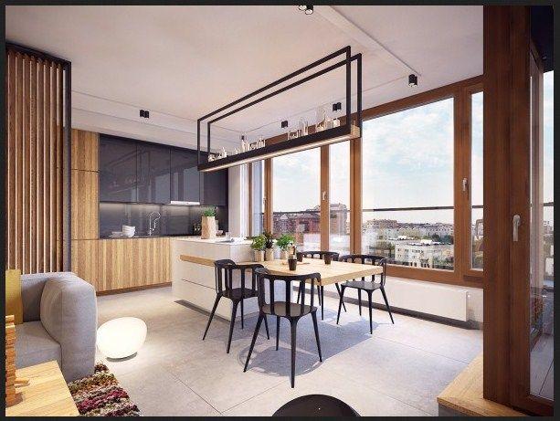 desain interior apartemen minimalis modern colorful 5