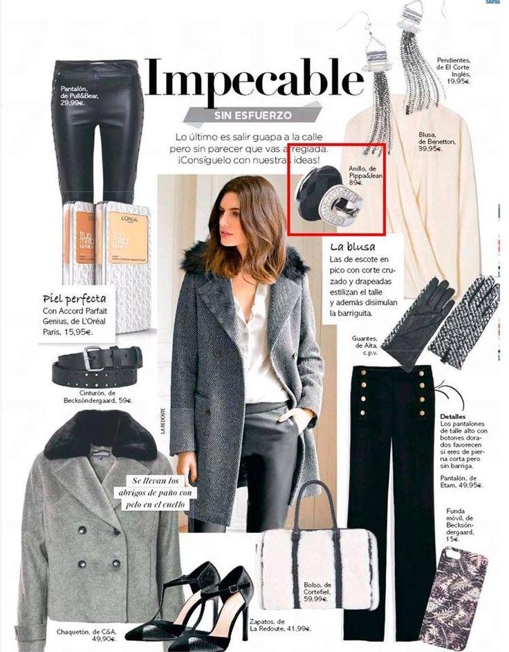 ¡Qué orgullosos estamos de ver las joyas de Pippa&Jean en la revista Clara! #moda #modamujer #prensa #joyas #bisuteria #pippajeans #pippaandjeans #bisuteriaespaña  #revista
