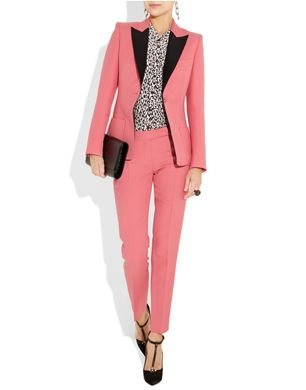 For Cruise '12, Emilio Pucci designer Peter Dundas took tailoring in a