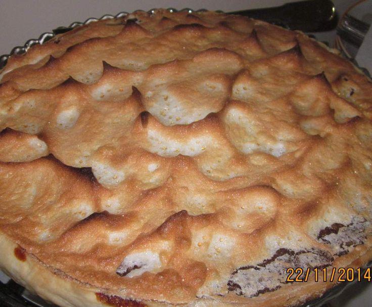 Receita Tarte merengada de chocolate e nozes por Madalena Aguiar - Categoria da receita Bolos e Biscoitos