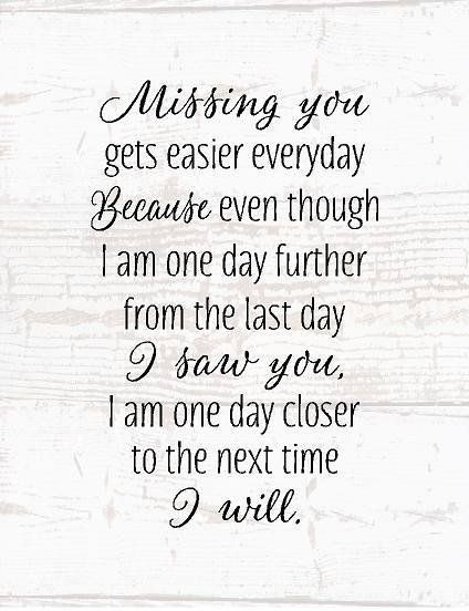 Missing You Wood Sign or Canvas Wall Art Sympathy Gift, Mom Memorial, Dad…