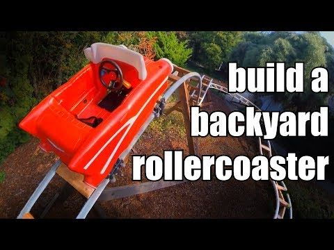 How to Build a Backyard Rollercoaster (for less than $500 ...