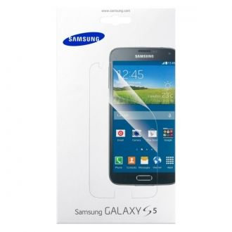 Oryginalna folia ochronna do smartfonu Samsung Galaxy S 5 skutecznie ochroni jego ekran przed zadrapaniami i zarysowaniami