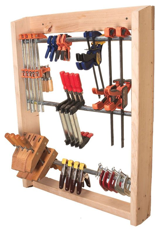 7 Classic Ways to Store clamps- genius