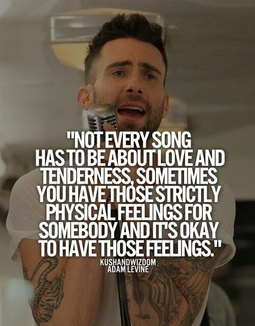 Adam Levine songwriting