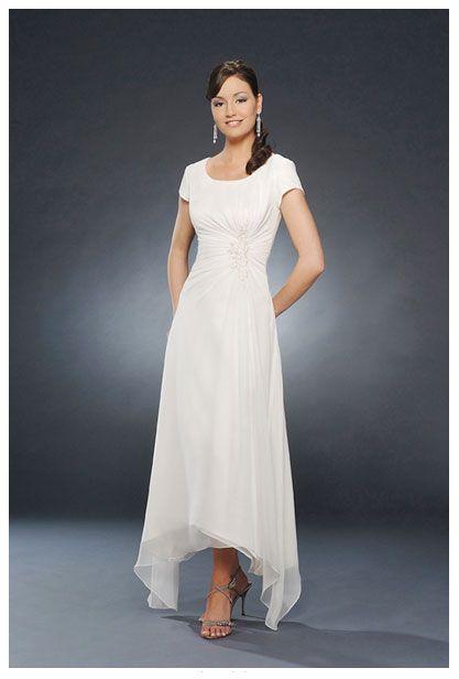 1000 images about modest dresses on pinterest kate for Wedding dresses asymmetrical hemline