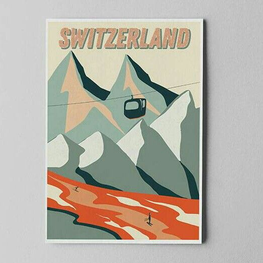 Quiero compartir lo último que he añadido a mi tienda de #etsy: SWISS ALPS PRINT. Switzerland digital print. Travel Journal Prints. Wall art. Mountains Prints. Maps of Switzerland. http://etsy.me/2jsTiWG