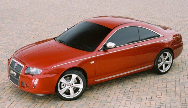 Rover 75 Coupe, 2005