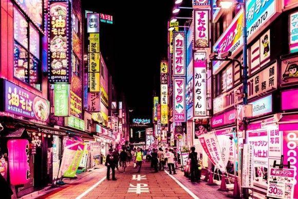 ネオン街の画像検索結果 Neon ネオン 夜の写真 東京