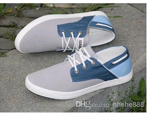 2014 de Moda de Nova sapatilhas para homens Flats Shoes Canvas Casual sneakers dos homens Alpercatas tênis Zapatos hombre